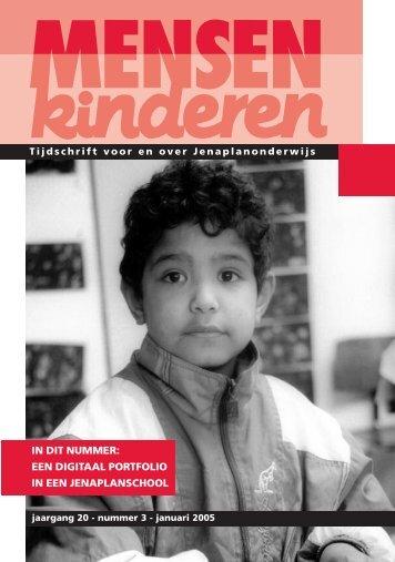 een digitaal portfolio in een jenaplanschool - Nederlandse ...