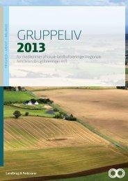 GRUPPELIV 2013 - Landbrug & Fødevarer