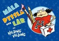 Måla, pyssla och lär med Hilding Vilding - Arvsfondsprojekten