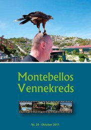 Montebellos Vennekreds - Tonny's Amputation Site