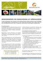 Her kan du læse de seneste nyheder i Gårdhusene - Masterplan Syd