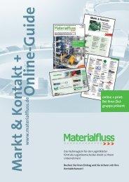 Ein Preis – do Markt & Kontakt und Ihr Wettbewerb ... - materialfluss.de