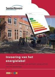 Invoering van het energielabel (pdf - kB)