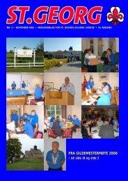 FRA GILDEMESTERMØTE 2006 - St. Georgs Gildene i Norge