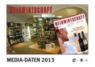 MEDIA-DATEN 2013 - MEININGER VERLAG GmbH