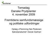 Flemming Nøhr-Pedersen - Danske Prydplanter