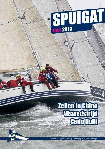 Zeilen in China Viswedstrijd Cedo Nulli - Jachtclub Scheveningen