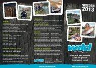 68335 Vis folder flyer wild.indd - WILD - Bijzonder Vissen