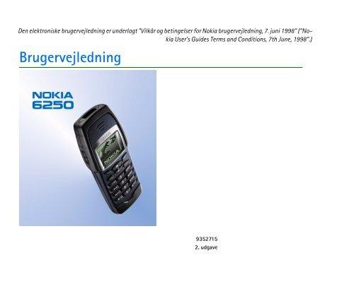 Brugervejledning - Brugte mobiler af Nokia og Sony Ericsson