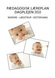 PÆDAGOGISK LÆREPLAN DAGPLEJEN 2010 - Viborg Kommune