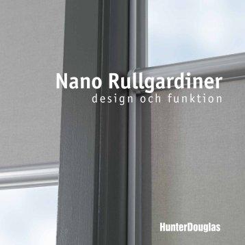 Nano Rullgardiner - Hunter Douglas