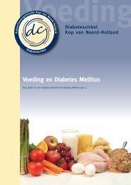 Voeding en Diabetes Mellitus - Diabetescirkel Kop van Noord-Holland