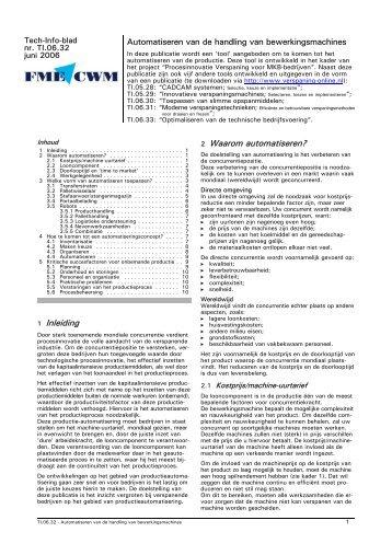 1 Inleiding 2 Waarom automatiseren? - Induteq