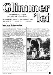 Glimmer'lei - April 2011 - Glimmen