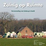 Brochure Zuinig op ruimte - Milieufederatie Limburg