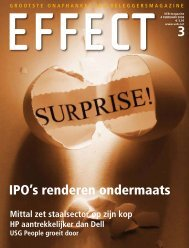 IPO's renderen ondermaats - Veb