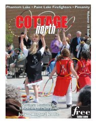 July – August 2012 - Cottage North Magazine