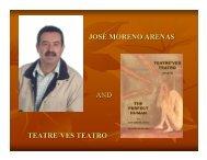 josé moreno arenas and teatre´ves teatro - Dallas International Book ...
