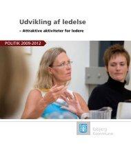 Politik for Udvikling af ledelse 2009-2012 (pdf - Esbjerg Kommune