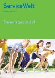Saisonstart 2012! ServiceWelt