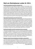 Klart Spår Juli nr 2 2011 - Järnvägsfrämjandet - Page 7