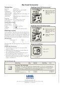 Eljo Trend - Elektroniska termostater (137 KB) - Schneider Electric - Page 2