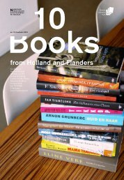 10 Books from Holland and Flanders, Autumn 2011 - Nederlands ...