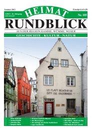 Heimat-Rundblick Nr. 105 Sommer 2013