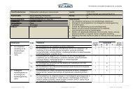 Marketingbeleid en -planning 2011-2012 - Ecabo
