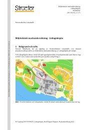 Miljöteknisk markundersökning - Lidingödepån 1 ... - Lidingö stad