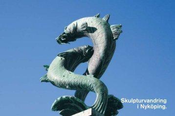 Skulpturvandring i Nyköping.