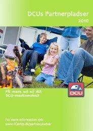 DCUs Partnerpladser 2010 - Camping-CD