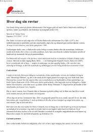 Hver dag sin røvtur - Løvens Forlag