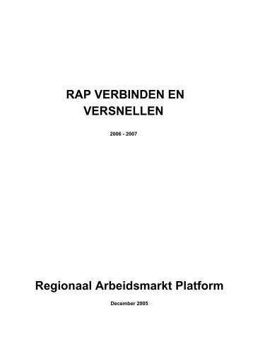 Regionaal Arbeidsmarkt Platform