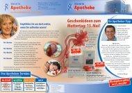 Geschenkideen zum Muttertag: 13.mai! - Bavaria Apotheke