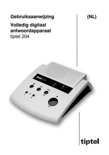 Handleiding Tiptel 204 - RON Telecom BV