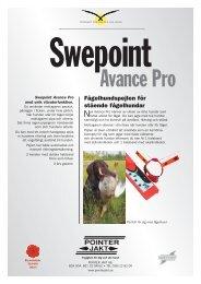 Produktblad Swepoint Avance Pro - Välkommen till Pointer Jakt!
