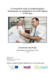 Et etnografisk studie af sundhedsfagliges arbejdsgange og ...