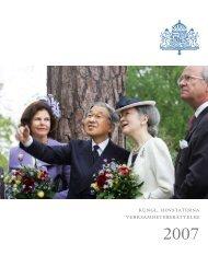 År 2007 (4 Mb) - Sveriges Kungahus
