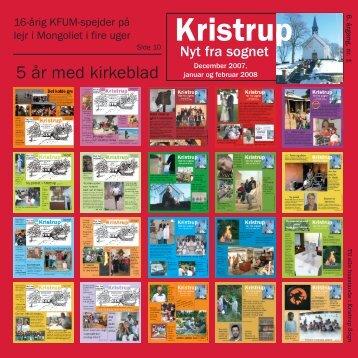Blad nr. 21 - december 2007.qxd - Kristrup Kirke