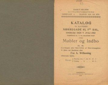 KATALOG Møbler og Indbo