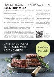 Sous vide kampagne september 2012 - Leco Convenience Food