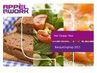 Banquetingmap 2013 - Corpac Huis