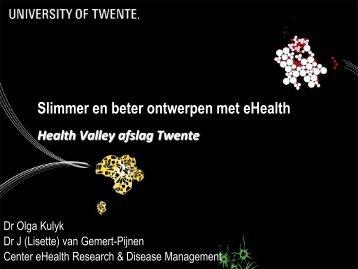 Slimme eHealth - Health Valley