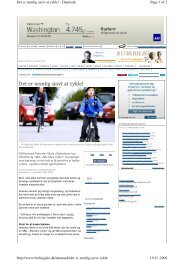 Det er nemlig sjovt at cykle - 7. sep - 2009 - Utterslev skole