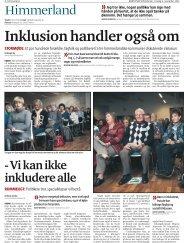 Inklusionsmøde i DH afdelinger Rebild, Mariager Fjord og - Danske ...