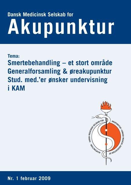 Smertebehandling - Dansk Medicinsk Selskab for Akupunktur