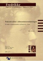 Fulltekst / PDF - Høgskolen i Nesna