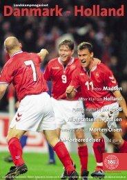 Danmark - Holland - DBU