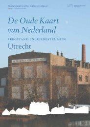 Utrecht - Oude Kaart Nederland